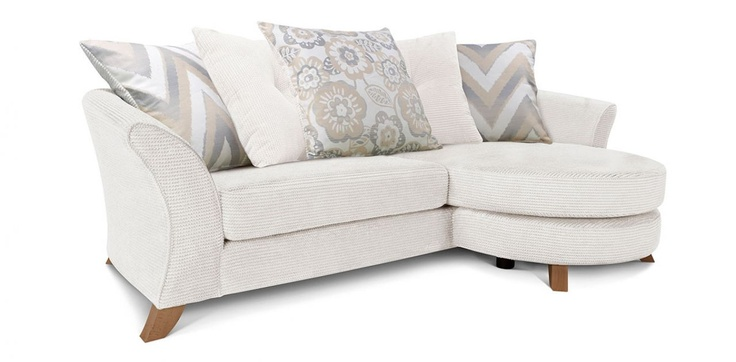 Right Hand Facing 4 Seater Pillow Back Lounger Sofa  £699 width 8Ft