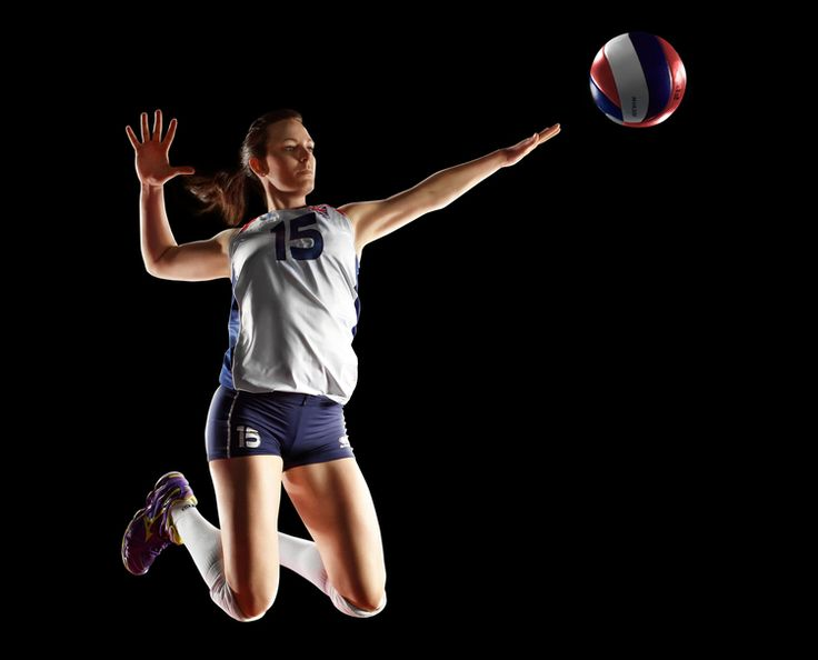 Photography of the GB Olympic Women's Volleyball Team as part of the Global Olympic Art Series.