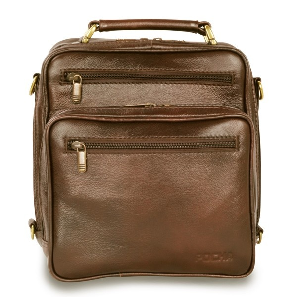 This sophisticated leather traveller bag is the ideal companion when you're on the road for business or going on holiday. The soft genuine Argentine full grain leather is pliable allowing the two roomy zipped compartments to store all your necessities conveniently right at your fingertips.