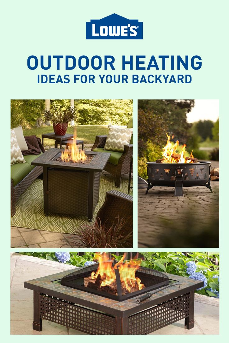 Fire pits, heaters, & fireplaces oh my! No need to run