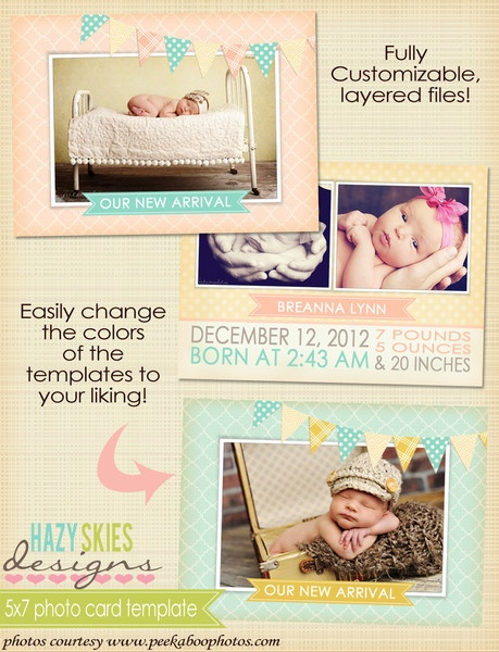 26 best Birth Announcements images on Pinterest Baby - announcement template