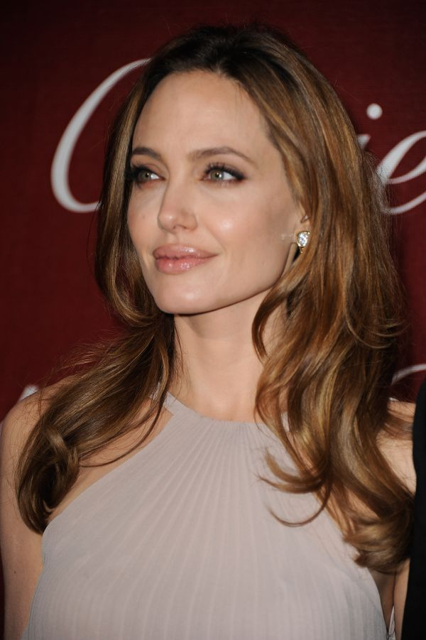 Angelina Jolie:Style:Long Wavy Cut