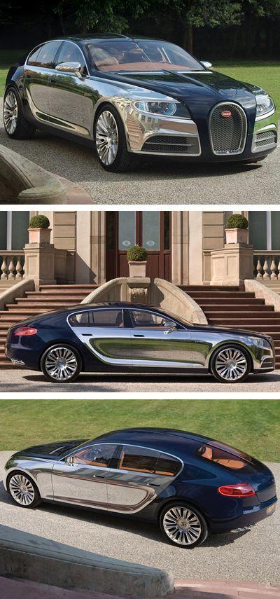 Concept Car Bugatti Galibier ❤ Www.