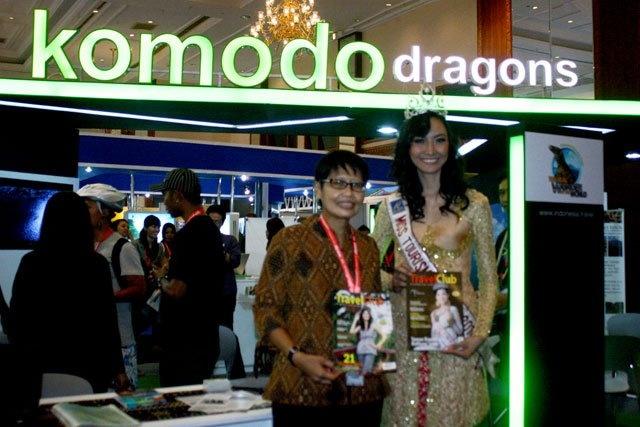 Komodo Dragons Exhibiton in 2011