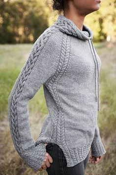 Again, it's the details that I like about this sweater