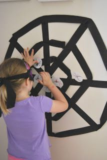 A Little Learning For Two: Pin The Spider On The Web
