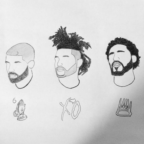 Drake / The Weeknd / J Cole   Drake, xo and abel