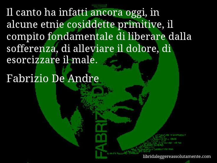 Cartolina con aforisma di Fabrizio De Andre (79)
