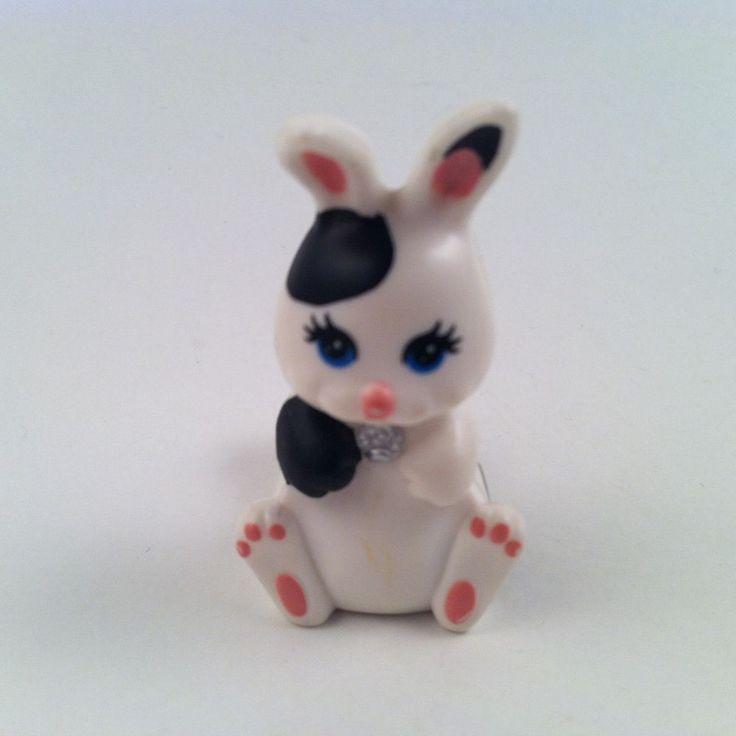 Vintage Kenner Littlest Pet Shop Hop n' Hide Bunnies Bunny Rabbit #Kenner