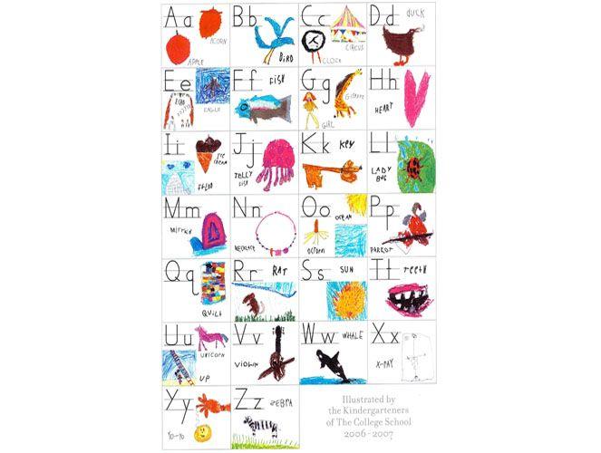 Alphabet Poster | Center for Student Work