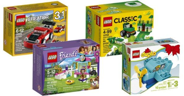 **GO GO GO** Amazon - LEGO Kits Under $5 Shipped! - http://www.momscouponbinder.com/go-go-go-amazon-lego-kits-5-shipped/ #lego #clearance #bargains