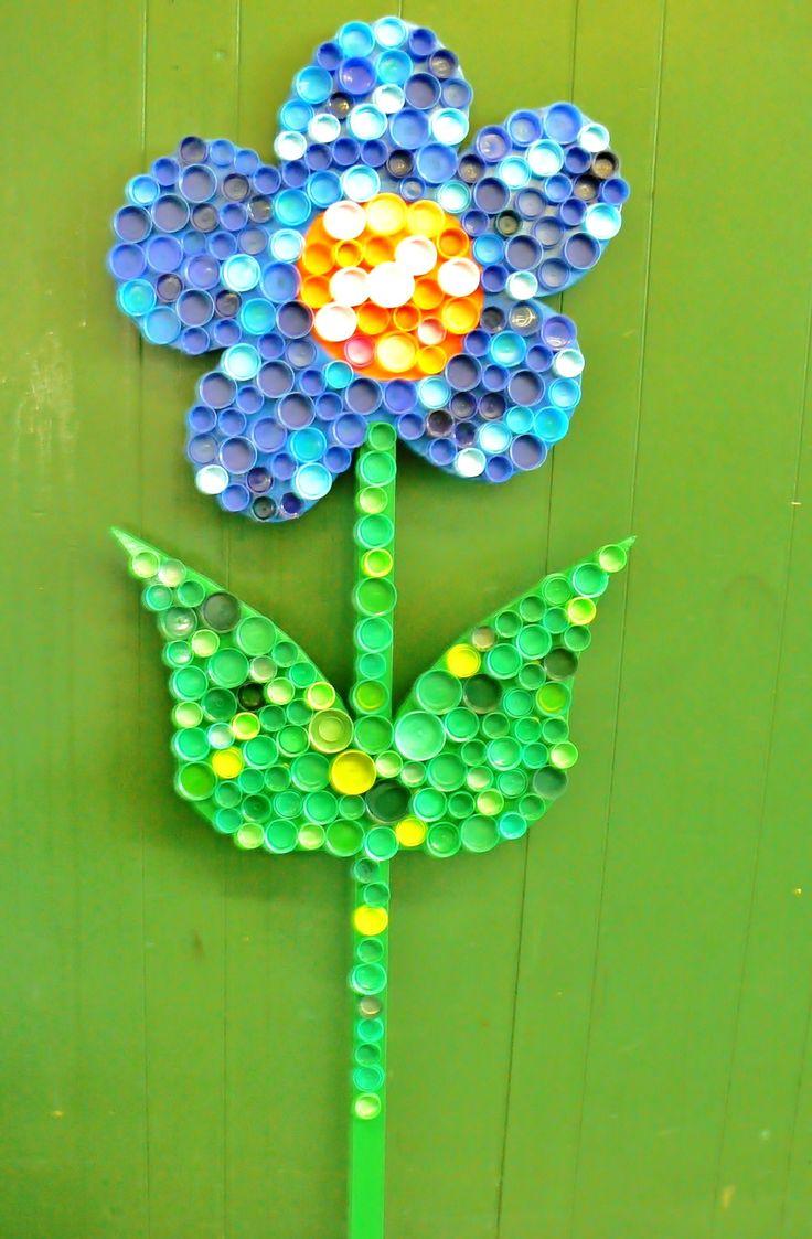 72 Best Plastic Bottle Caps Diy Crafts Art Images On