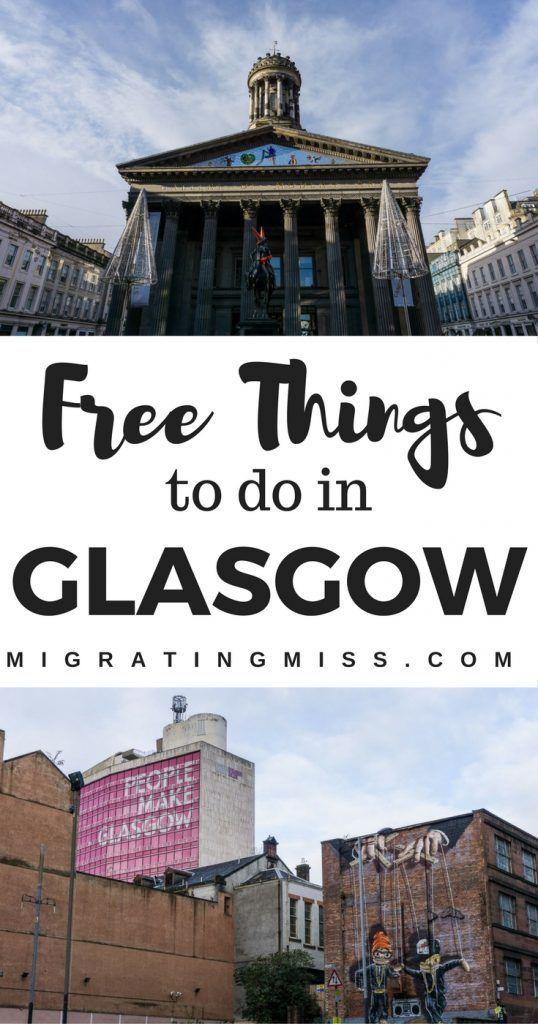 21 Free Things to Do in Glasgow, Scotland - #glasgow #scotland #streetart #graffiti