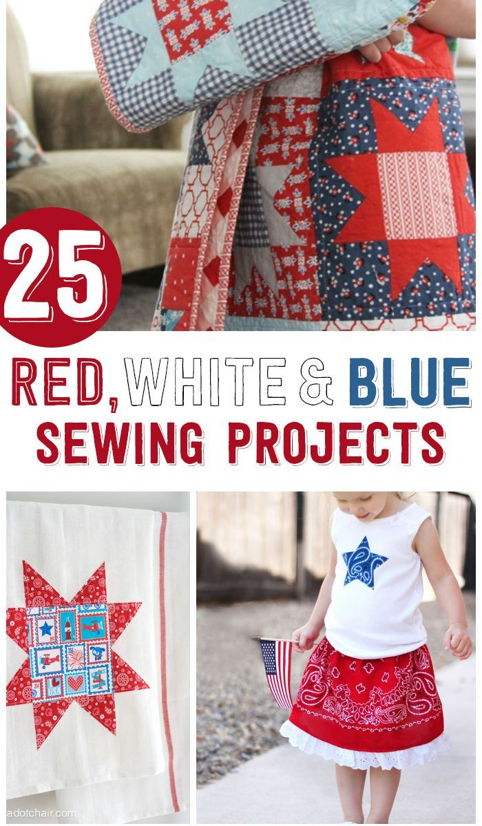 If you're looking for some fun things to sew this summer I've rounded up 25 4th of July Sewing Projects for you to try.Quilts, Bags, & skirts