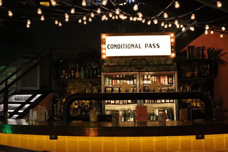 Good Fortune Bar: Bar Area