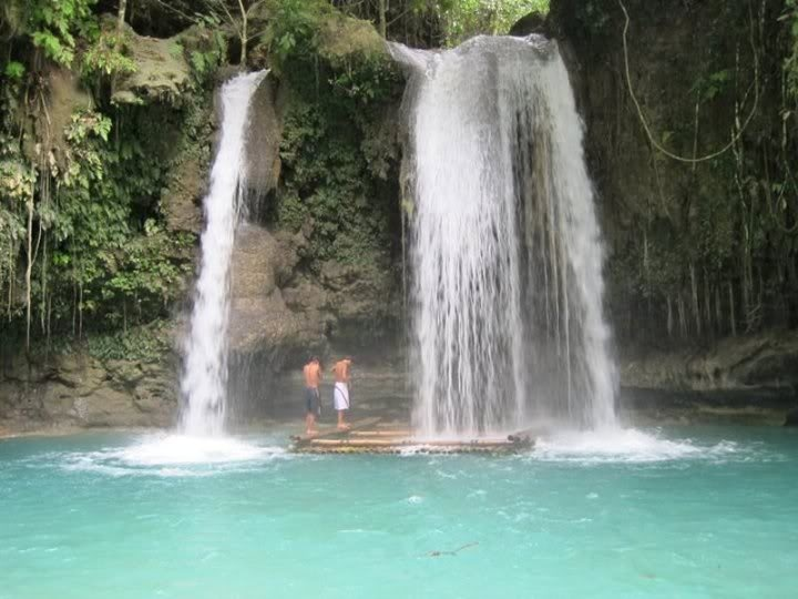 SeaBreeze Cottages Moalboal Cebu: Kawasan Falls