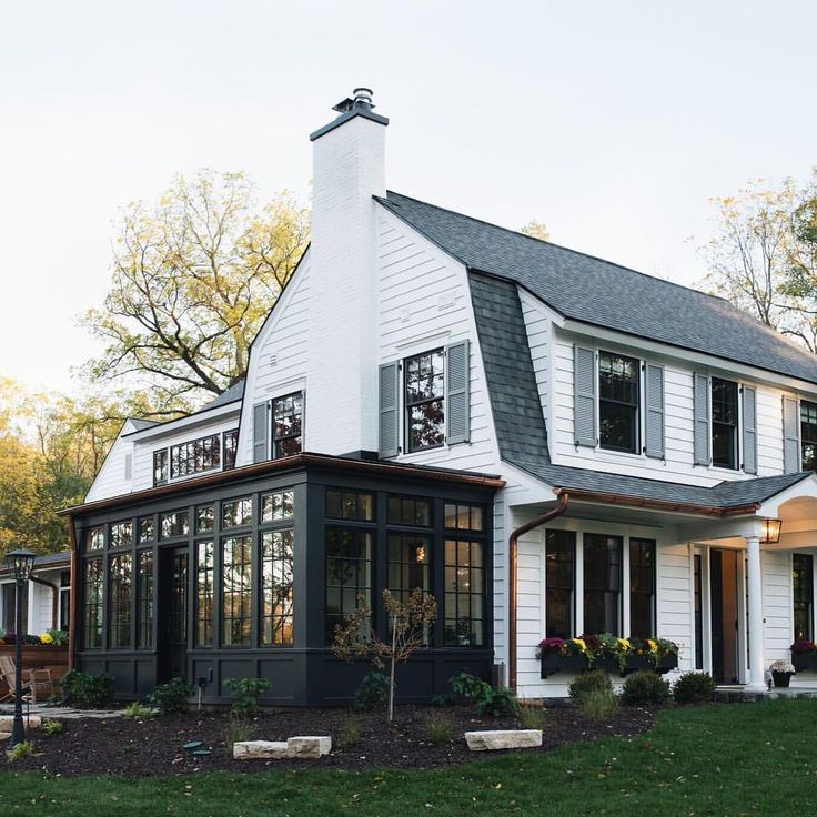 Dutch Colonial Luxury Homes: 27 Best Dutch Colonial: Porches Images On Pinterest