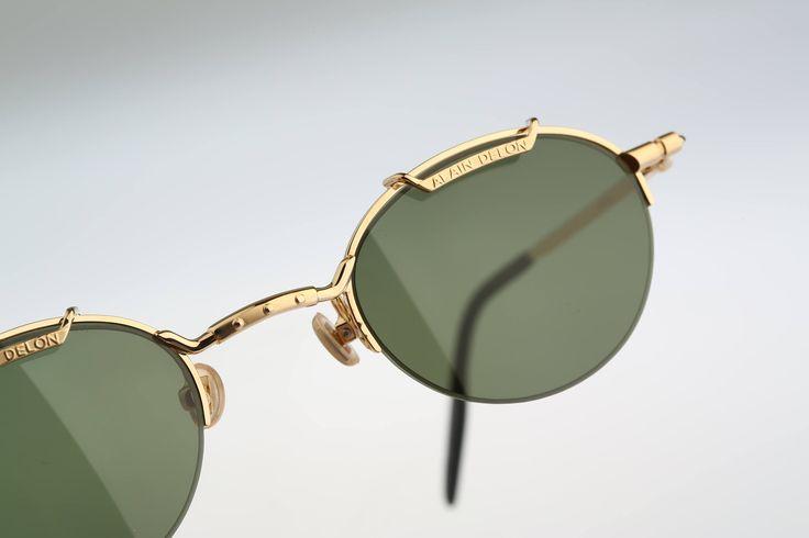 Alain Delon 3574N / Vintage sunglasses / NOS 90's rare designer eyewear prescription frame by CarettaVintage on Etsy