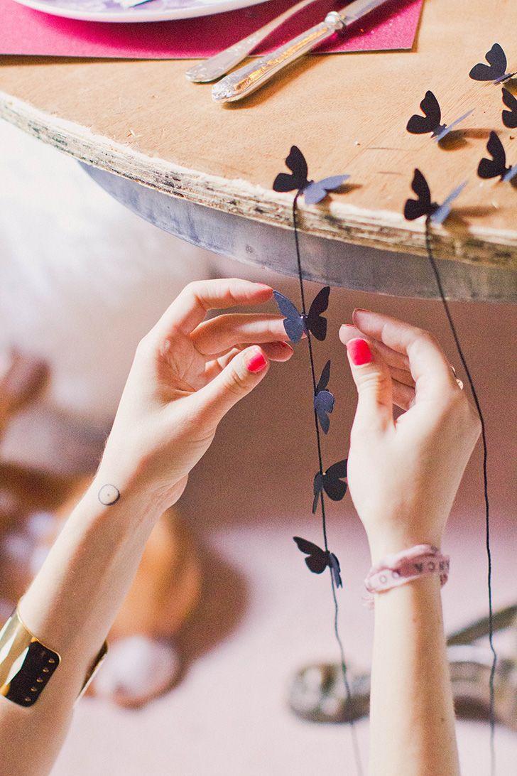 Contes de fées - Une décoration de table dans la légèreté et le conte de fée #DIY #TablesenFête #RoquefortPapillon