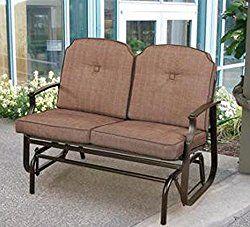 Mainstays Wentworth Outdoor Glider Bench, Seats 2