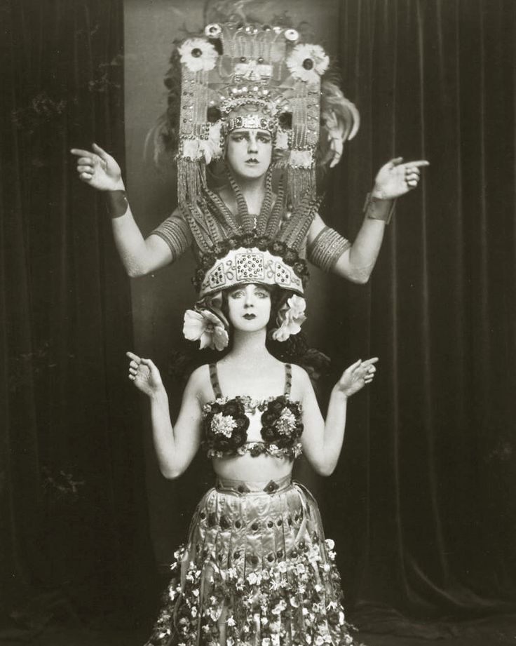 1910s, Ruth St. Denis and Ted Shawn - modern dance pioneers