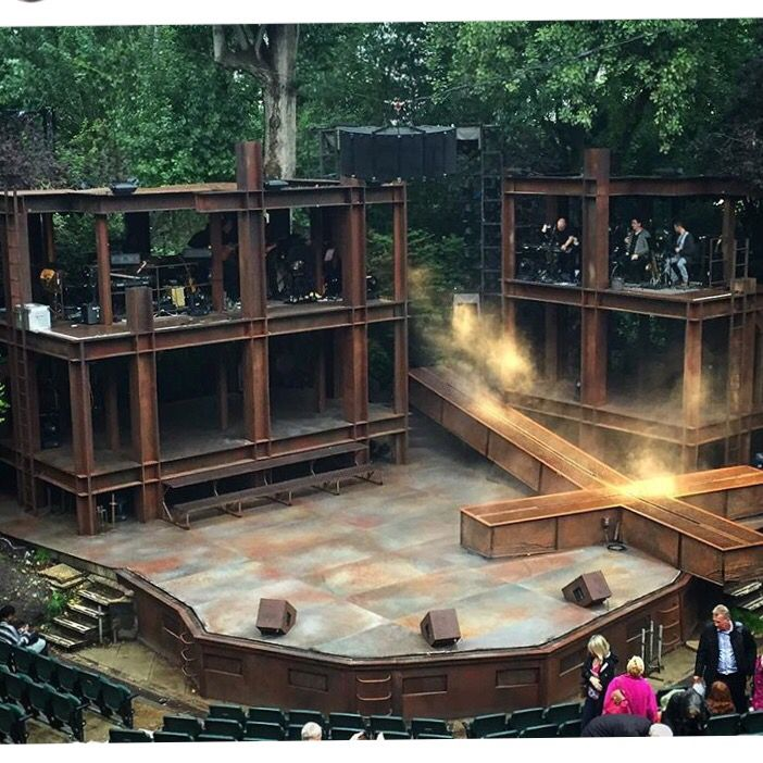 JESUS CHRIST SUPERSTAR at Regents Open Air Theatre