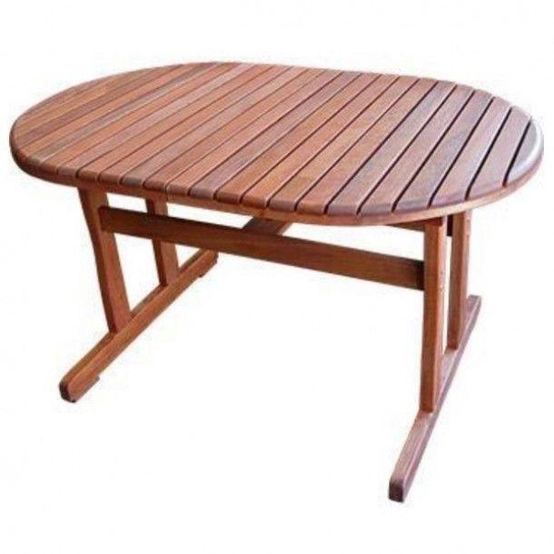 Τραπέζι Επεκτεινόμενο Εξωτερικού Χώρου Meranti-120  Τραπέζι οβάλ, επεκτεινόμενο από ξύλο Meranti - Διαστάσεις: 120(+50)x84x74εκ. Τραπέζι εξωτερικού χώρου επεκτεινόμενο, πρακτικό, μοντέρνου σχεδιασμού που αποτελεί την ιδανική επιλογή για τον κήπο σας.