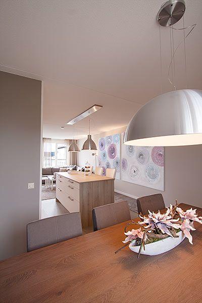 Inrichting en ontwerp keuken/woonkamer