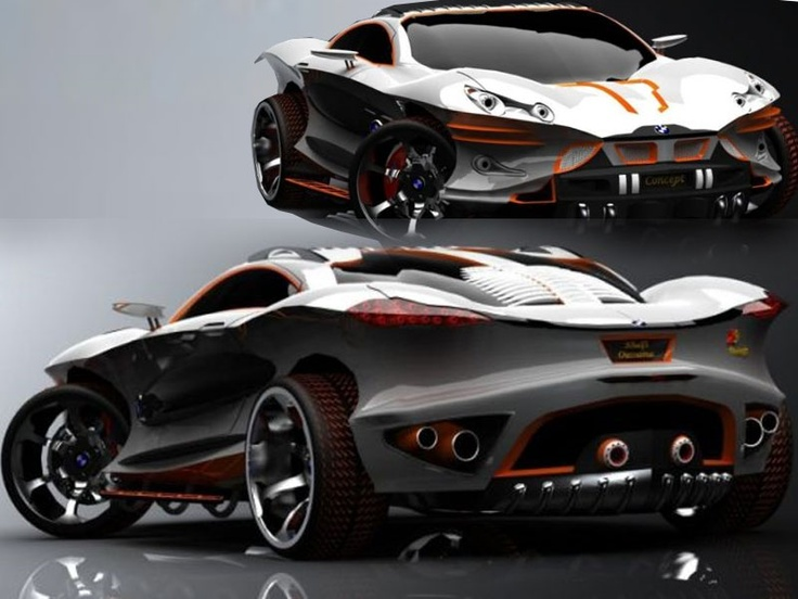 Superbe BMW Sport Cars Concept This Car Is BMW Abstraction Cars, Advised By Khalfi  Oussama .