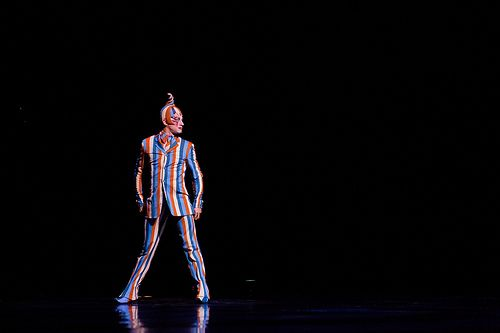Kooza production by Cirque du Soleil which runs July 26 to September 2, 2012 in Houston.