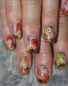 Latest Fall Nail Art Designs Trends Ideas For Girls 2013 2014 3 Latest Fall Nail Art Designs, Trends & Ideas For Girls 2013/ 2014