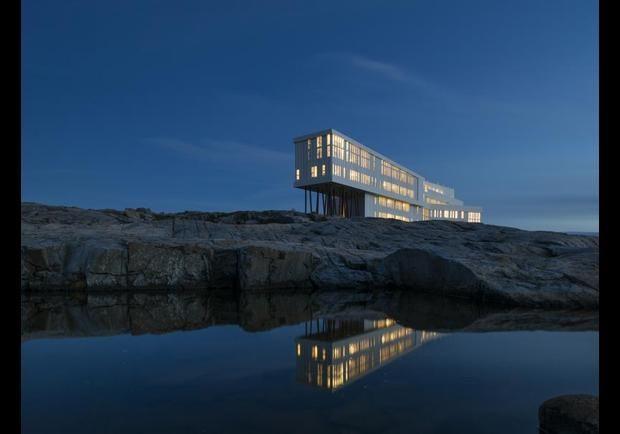 Fogo Island Inn: The Hot Hotel In Newfoundland's Iceberg Alley