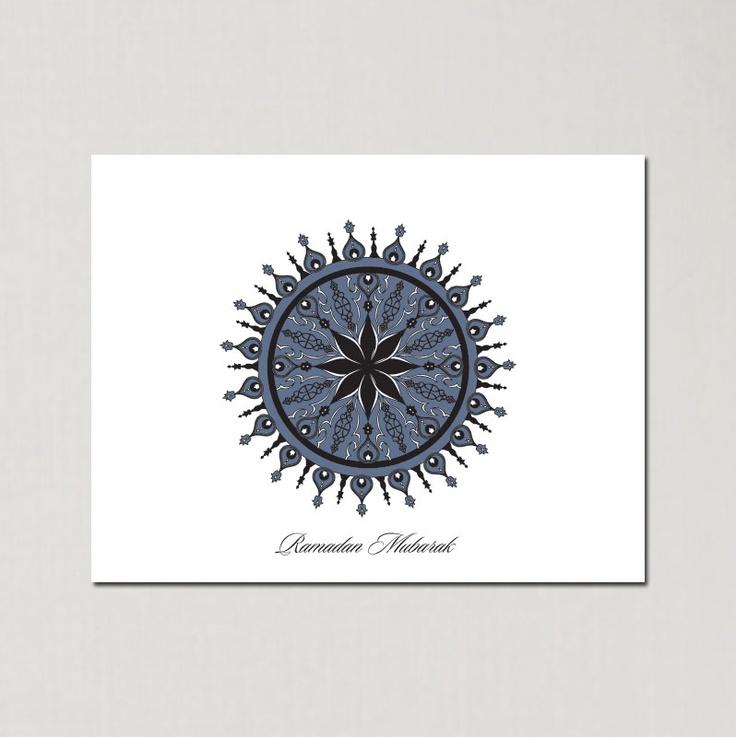 Ramadan Syrian Spikes - Ramadan Greeting Cards by Soulful Moon