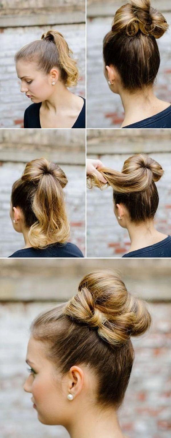 5 Minute Hair Tutorial – The Bow Bun