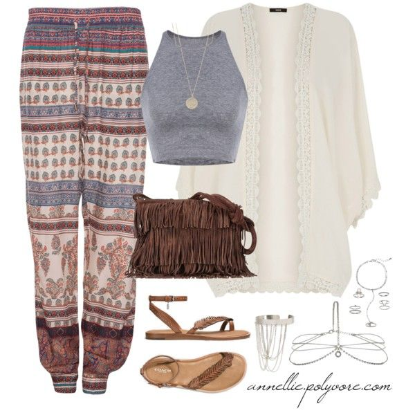 Bohemian Beauty by annellie on Polyvore featuring Oasis, Pull&Bear, Coach, Sequoia, Forever 21, Mudd, Accessorize and Dorothy Perkins