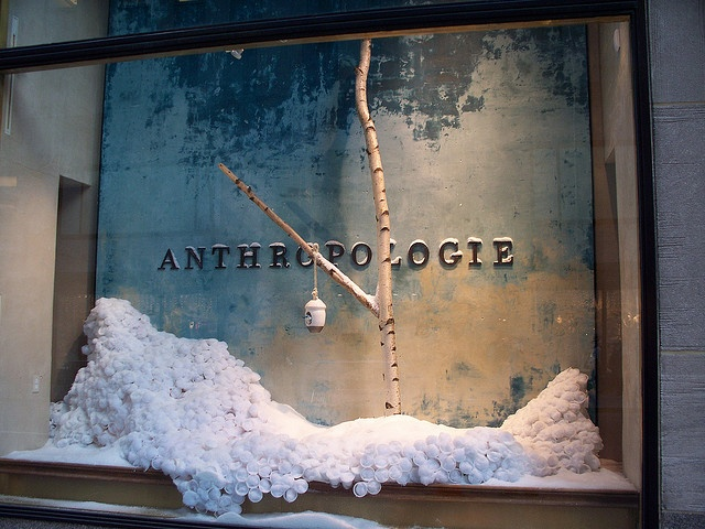 Anthropologie rockefeller center New York Display