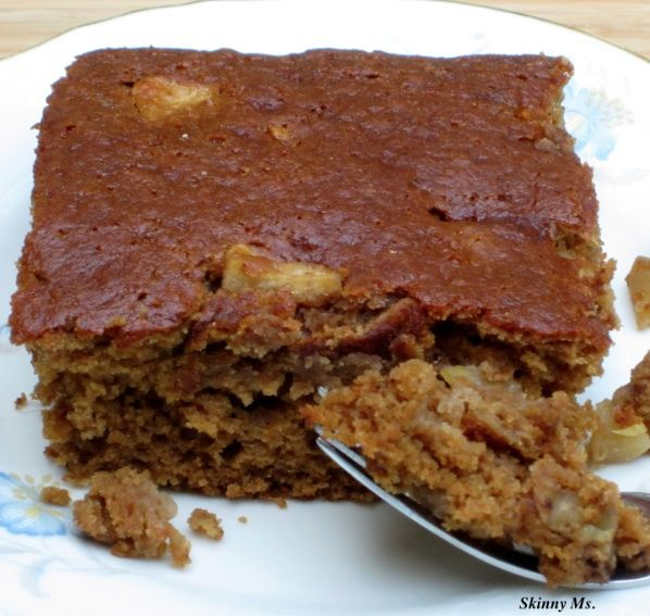 Grandma's Applesauce Spice Cake is super moist and delicious - your ...