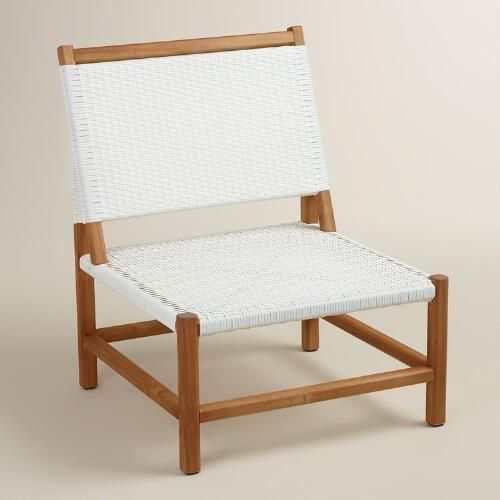One of my favorite discoveries at WorldMarket.com: Wood Sirmione Outdoor Chair Set of 2