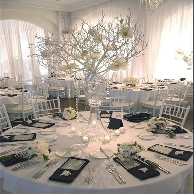 Winter Wonderland Wedding In Spring » Events Of Glamour.com