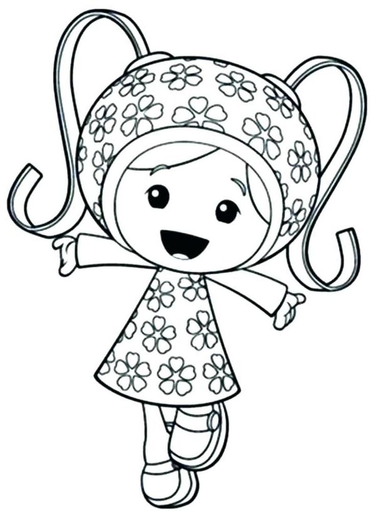 Oomie Zumie In 2020 Team Umizoomi Coloring Pages Coloring Books