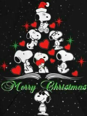 Snoopy ❤ Merry Christmas