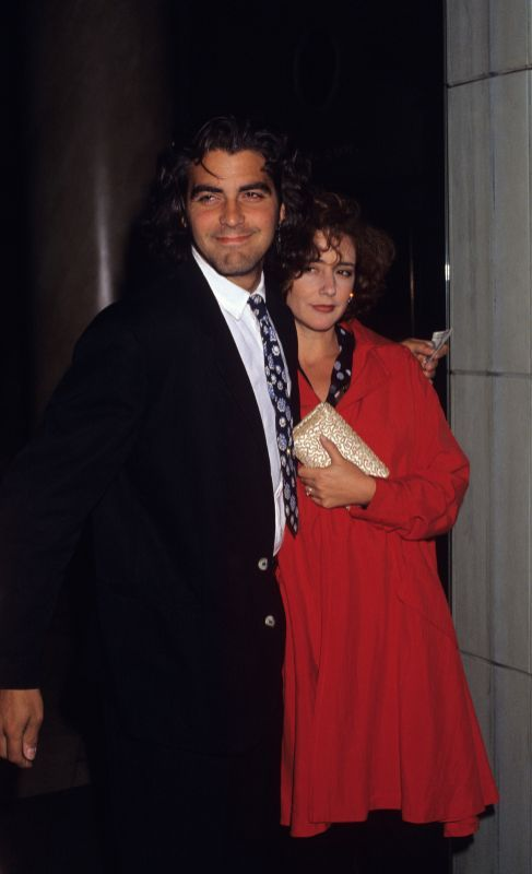 George Clooney and first wife Talia Balsam | Illustrious ...