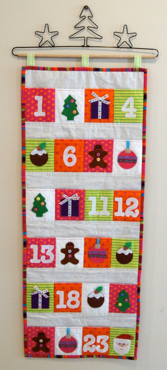 Christmas Advent Calender PDF Pattern by claireturpindesign, $10.00