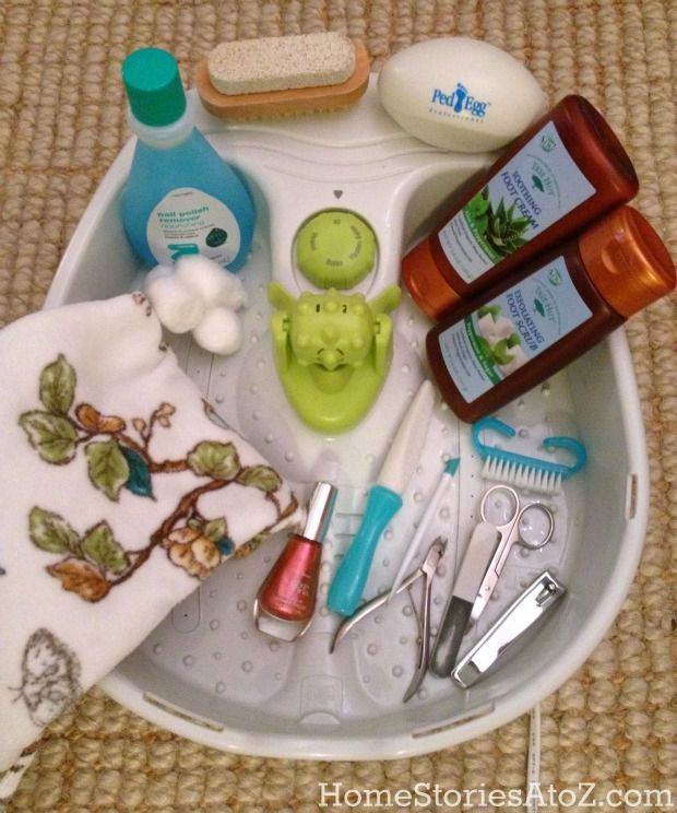 How to Do a Pedicure - Home Stories A to Z