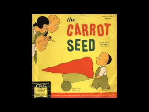 The Carrot Seed - classic book and classic recording