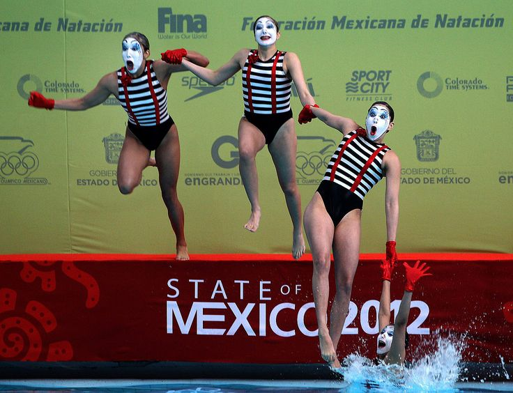 Mexico hosts Synchronized Swimming World Trophy (Photo: Alex Cruz / EPA)