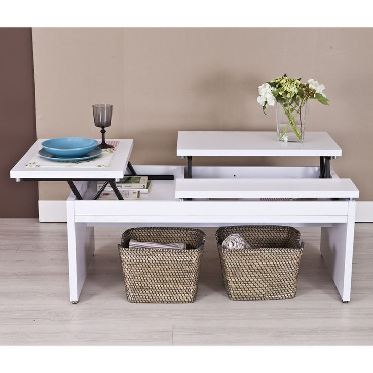 M s de 25 ideas incre bles sobre mesa salon elevable en - Mesa de salon elevable ...