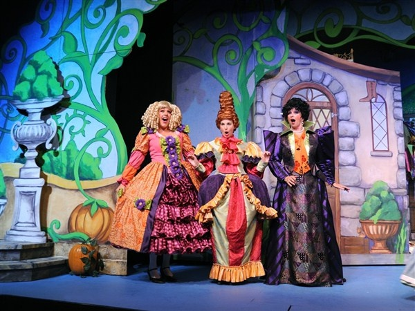 Cinderella's Ugly Step Sisters - Rodgers and Hammerstein's Cinderella at the Broadway Theatre - New York