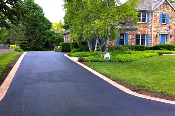 Driveway Landscaping Entrance Drive Way Curb Appeal