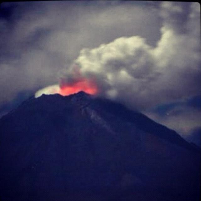 México #volcán